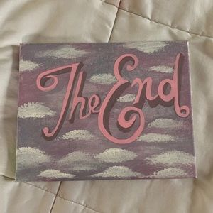 """""""The End"""" Vintage Painting"""